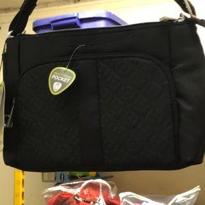 Travelon Anti-theft East/West bag purse